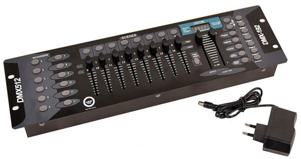 LIGHT4ME BASIC 192 DMX CONTROLLER