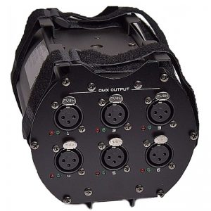 LIGHT4ME 6 DXH SPLITTER DMX 6 CHANNELS BOOSTER