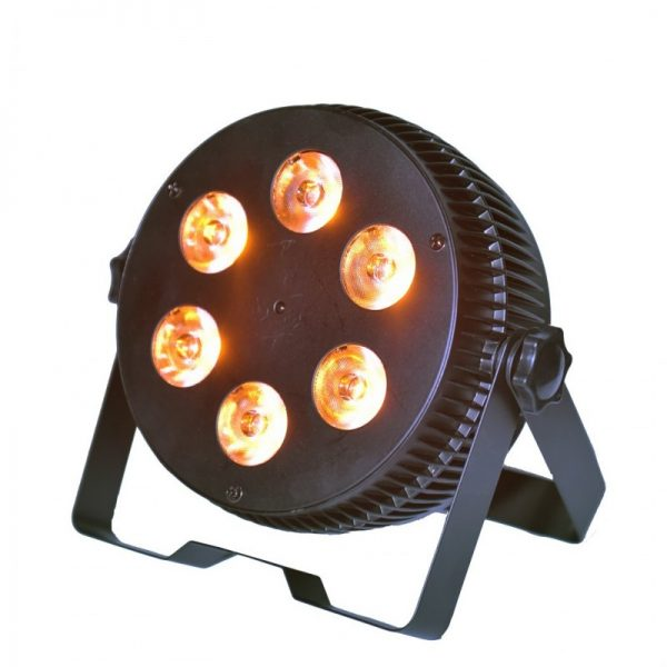 LIGHT4ME ART PAR 6x15W LED RGBWAUV SILENT