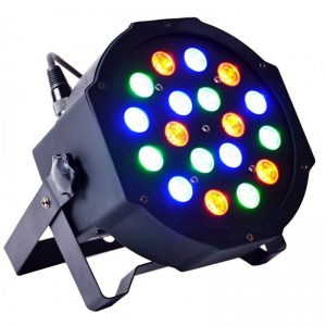 LIGHT4ME BASIC FLAT PAR 18x3W RGB LED IEC