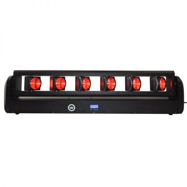 LIGHT4ME BEAM BAR MOVING BAR LED 6x12W RGBW