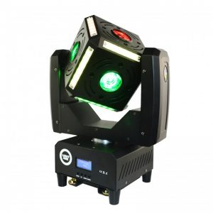 LIGHT4ME CUBE MOVING HEAD EFFECT 6x12W RGBW LED