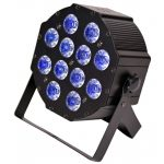 LIGHT4ME FLAT QUAD PAR 12x10W RGBW