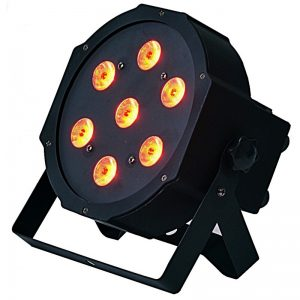LIGHT4ME FLAT QUAD PAR 7x8W RGBW LED