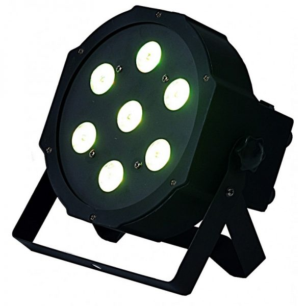 LIGHT4ME FLAT TRI PAR 7x9W RGB LED