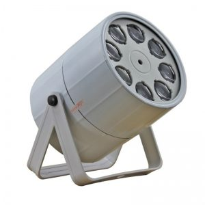 LIGHT4ME GOBO EFFECT LED PROJECTOR 8x3W RGBW