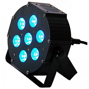 LIGHT4ME IRON PAR LED RGB 7x9W