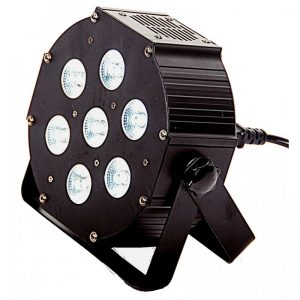 LIGHT4ME IRON PAR LED RGBWA-UV 7x12W