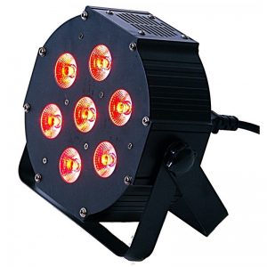 LIGHT4ME IRON PAR LED RGBW 7x10W