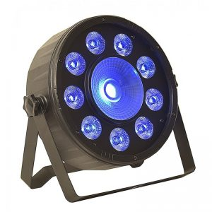 LIGHT4ME MATCH PAR LED 9x3W RGB + 1x30W COB