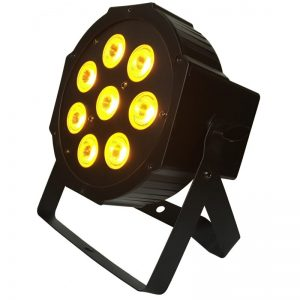 LIGHT4ME PENTA PAR 8x12W RGBWA LED slim