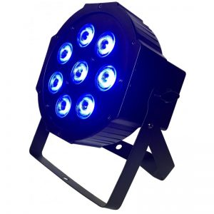 LIGHT4ME QUAD PAR 8x10W RGBW LED