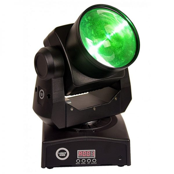LIGHT4ME SMART BEAM LED MOVING HEAD 60W
