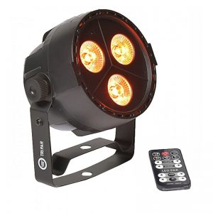 LIGHT4ME TRI PAR 3x3W LED RGB